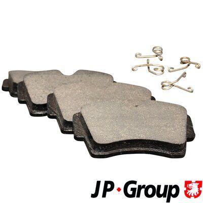 JP GROUP  1263601510 Bremsbelagsatz, Scheibenbremse Dicke/Stärke: 17,5mm