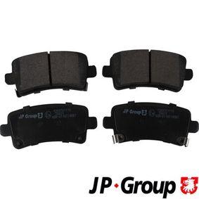 Brake Pad Set, disc brake Thickness: 17,3mm with OEM Number 1605319