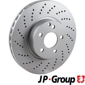 Brake Disc 1363101800 E-Class Saloon (W212) E 350 3.5 (212.059) MY 2012