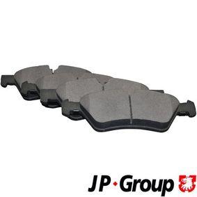Комплект спирачно феродо, дискови спирачки 1363602610 M-класа (W164) ML 320 CDI 3.0 4-matic (164.122) Г.П. 2005