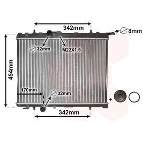 Radiador, refrigeración del motor Número de artículo 40002189 120,00€