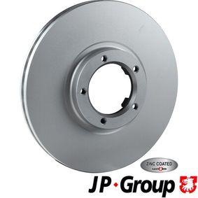 Bremsscheibe Bremsscheibendicke: 24,5mm, Lochanzahl: 5, Ø: 270mm mit OEM-Nummer 5029 815