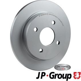 Brake Disc Brake Disc Thickness: 10,5mm, Num. of holes: 4, Ø: 253mm with OEM Number 95GB2A315B1C