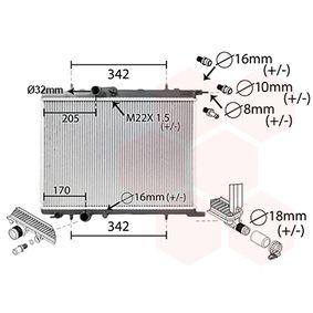 Radiador, refrigeración del motor Número de artículo 40002300 120,00€