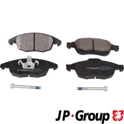 JP GROUP  3163600710 Bremsbelagsatz, Scheibenbremse Dicke/Stärke 1: 18,8mm, Dicke/Stärke 2: 18,3mm
