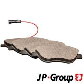 Bremsbelagsatz, Scheibenbremse Dicke/Stärke: 19,4mm mit OEM-Nummer 77 365 188