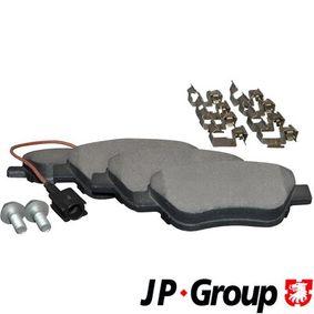 Bremsbelagsatz, Scheibenbremse Dicke/Stärke: 18mm mit OEM-Nummer 77363942