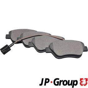 Bremsbelagsatz, Scheibenbremse Dicke/Stärke: 18,1mm mit OEM-Nummer 77 362 091