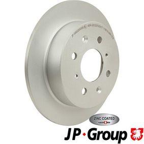 Спирачен диск 3463200300 Jazz 2 (GD_, GE3, GE2) 1.2 i-DSI (GD5, GE2) Г.П. 2008
