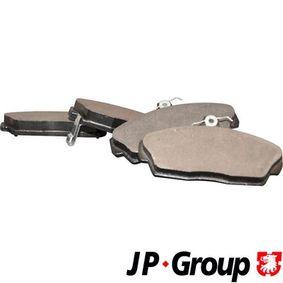Комплект спирачно феродо, дискови спирачки дебелина: 17,5мм с ОЕМ-номер GBP90313