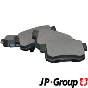 Honda Civic eu7 1.6i Bremsbeläge JP GROUP 3463700410 (1.6i Benzin 2001 D16W7)