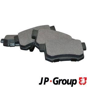 Brake Pad Set, disc brake 3463700410 CIVIC 7 Hatchback (EU, EP, EV) 2.0 Type-R MY 2002