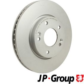 Brake Disc Brake Disc Thickness: 26mm, Num. of holes: 5, Ø: 280mm with OEM Number 51712 1F300