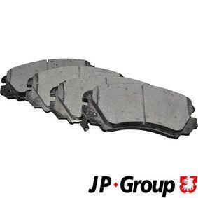Bremsbelagsatz, Scheibenbremse Dicke/Stärke: 16,9mm mit OEM-Nummer 58101 3CA20