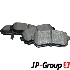 2012 KIA Ceed ED 1.6 CRDi 90 Brake Pad Set, disc brake 3563700610