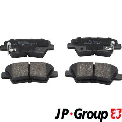 JP GROUP  3563700910 Bremsbelagsatz, Scheibenbremse Dicke/Stärke: 15,5mm