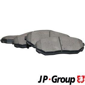 2005 KIA Sorento jc 2.5 CRDi Brake Pad Set, disc brake 3663600610