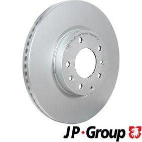Bremsscheibe Bremsscheibendicke: 25mm, Lochanzahl: 4, Ø: 299mm mit OEM-Nummer G33Y-33-25X