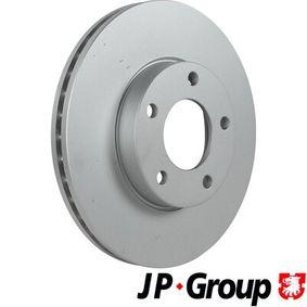 Brake Disc Brake Disc Thickness: 25mm, Num. of holes: 5, Ø: 278mm with OEM Number BP4Y 33 25XB