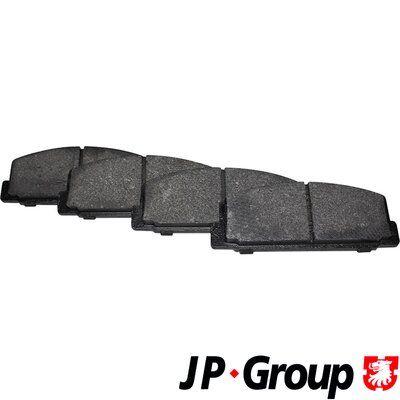 JP GROUP  3863700610 Bremsbelagsatz, Scheibenbremse Dicke/Stärke: 13mm