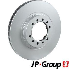 Brake Disc Brake Disc Thickness: 24mm, Num. of holes: 6, Ø: 277mm with OEM Number MR 129648
