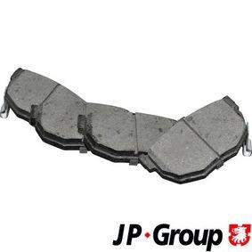 2005 Hyundai Coupe gk 2.0 Brake Pad Set, disc brake 4063700110