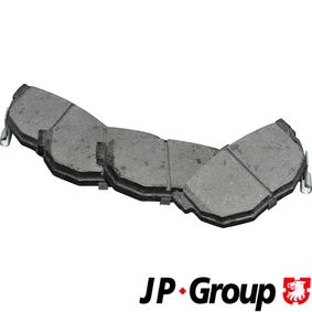 2003 Hyundai Coupe gk 2.7 V6 Brake Pad Set, disc brake 4063700110