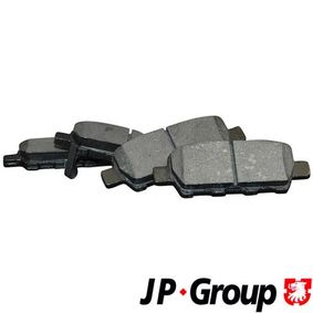 2013 Nissan Qashqai j10 1.6 Brake Pad Set, disc brake 4063700610