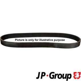 V-Ribbed Belts 4118100100 PUNTO (188) 1.2 16V 80 MY 2006