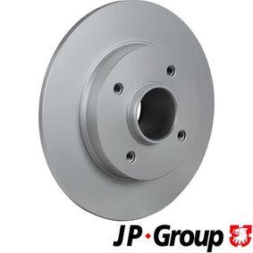 Disco de travão Espessura do disco de travão: 9mm, N.º de furos: 4, Ø: 249mm com códigos OEM 4249,34