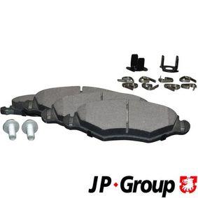 Bremsbelagsatz, Scheibenbremse Dicke/Stärke: 18mm mit OEM-Nummer 4253 05