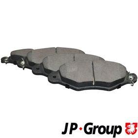 Bremsbelagsatz, Scheibenbremse Dicke/Stärke: 18mm mit OEM-Nummer 4252 05