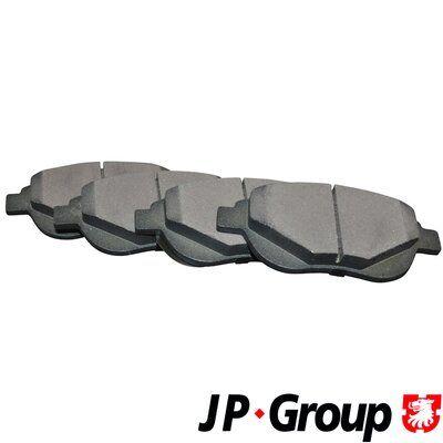 JP GROUP  4163601810 Bremsbelagsatz, Scheibenbremse Dicke/Stärke: 19,4mm