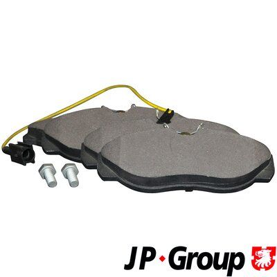JP GROUP  4163602310 Bremsbelagsatz, Scheibenbremse Dicke/Stärke: 19,7mm
