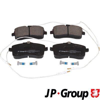 JP GROUP  4163602510 Bremsbelagsatz, Scheibenbremse Dicke/Stärke: 18,7mm