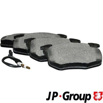 JP GROUP  4163602810 Bremsbelagsatz, Scheibenbremse Dicke/Stärke: 18mm