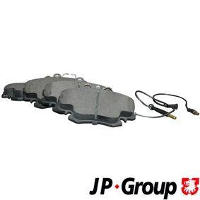 Bremsbelagsatz, Scheibenbremse Dicke/Stärke: 18,2mm mit OEM-Nummer 60 00 008 126