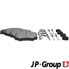 Bremsbelagsatz, Scheibenbremse Dicke/Stärke: 20,1mm mit OEM-Nummer 7175 2985
