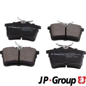 2012 Peugeot 308 Mk1 1.6 GTi Brake Pad Set, disc brake 4163700910