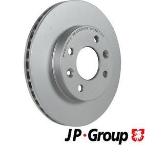 Bremsscheibe Bremsscheibendicke: 20mm, Lochanzahl: 4, Ø: 238mm mit OEM-Nummer 40206-00Q0D