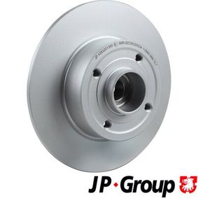 Bremsscheibe Bremsscheibendicke: 8mm, Lochanzahl: 4, Ø: 240mm mit OEM-Nummer 8200038305