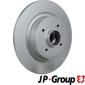 JP GROUP Disco de travão 4363201600 com códigos OEM 7701206328