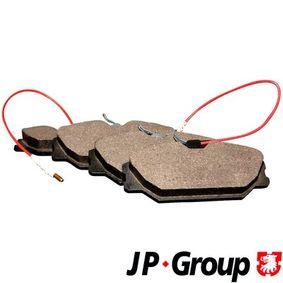 Bremsbelagsatz, Scheibenbremse Dicke/Stärke: 18,3mm mit OEM-Nummer 77 01 203 070