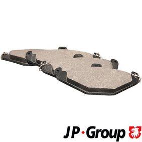 Bremsbelagsatz, Scheibenbremse Dicke/Stärke: 15,0mm mit OEM-Nummer 6025 308 186