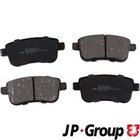 Brake Pad Set, disc brake 4363700210 MEGANE 3 (BZ0) 1.6 16V MY 2018