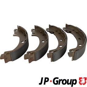 Bremsbackensatz Breite: 39mm mit OEM-Nummer 7701 207 267