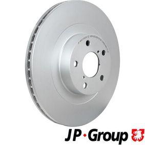Subaru Impreza 3 2.5 WRX STI AWD (GRF) Bremsscheiben JP GROUP 4663100200 (2.5 WRX STI AWD (GRF) Benzin 2009 EJ257)