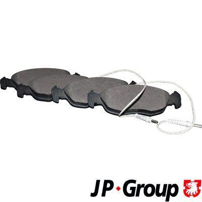 JP GROUP  4812101310 Zahnriemensatz Länge: 1686mm, Breite: 25mm