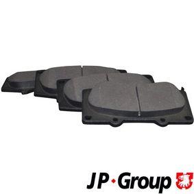 Bremsbelagsatz, Scheibenbremse Dicke/Stärke: 17mm mit OEM-Nummer 0446535290