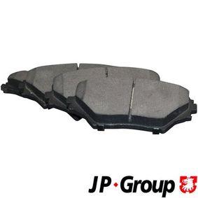 Bremsbelagsatz, Scheibenbremse Dicke/Stärke: 17,4mm mit OEM-Nummer 0446542130